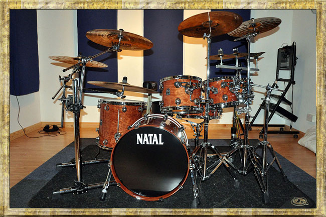 Graham Collins Natal Drums
