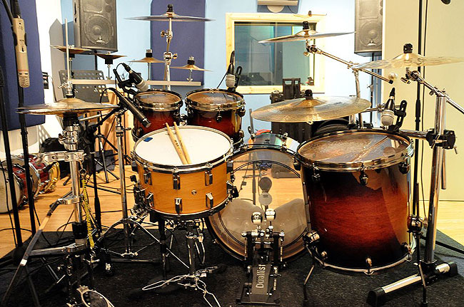 Graham Collins Drums 3dB Studios