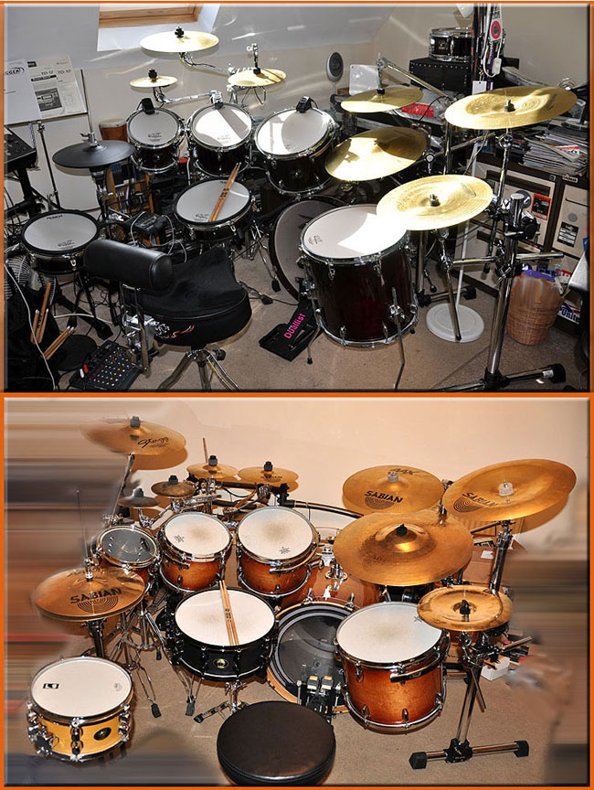 A & E - Acoustic and Electronic Gretsch Kits