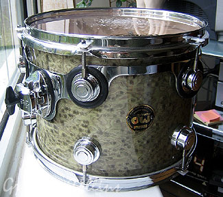 DW Drums Exotic Birdseye Maple