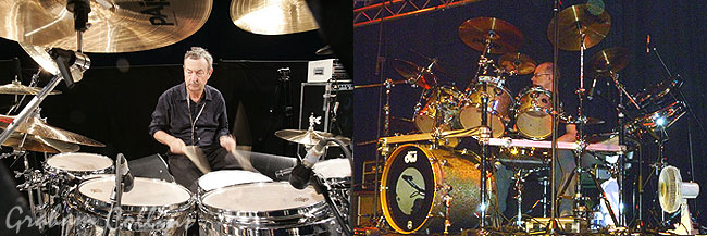 Nick Mason Graham Collins DW Drums
