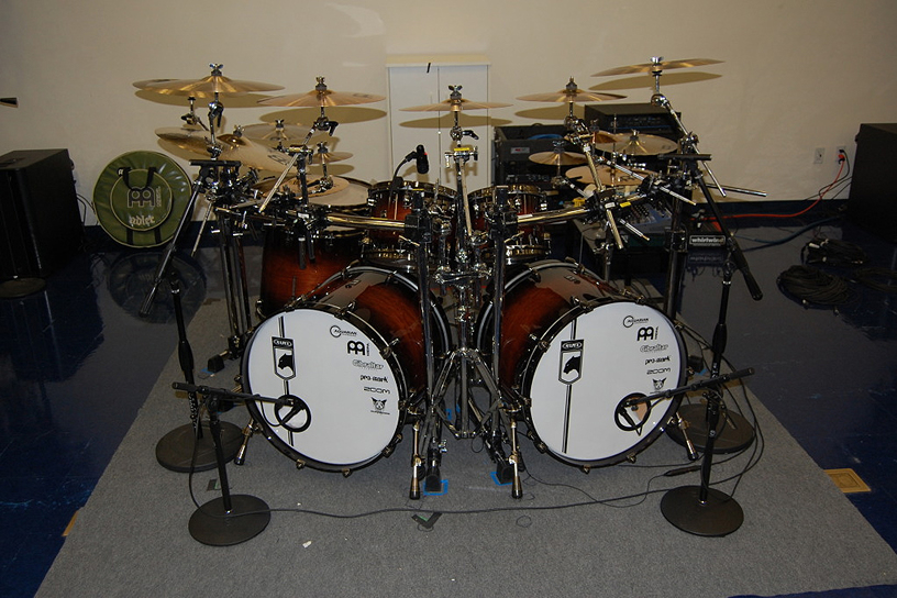 Chris Adler Mapex Black Panther Blaster Kit - Bentleys Clinic, Fresno March 2011